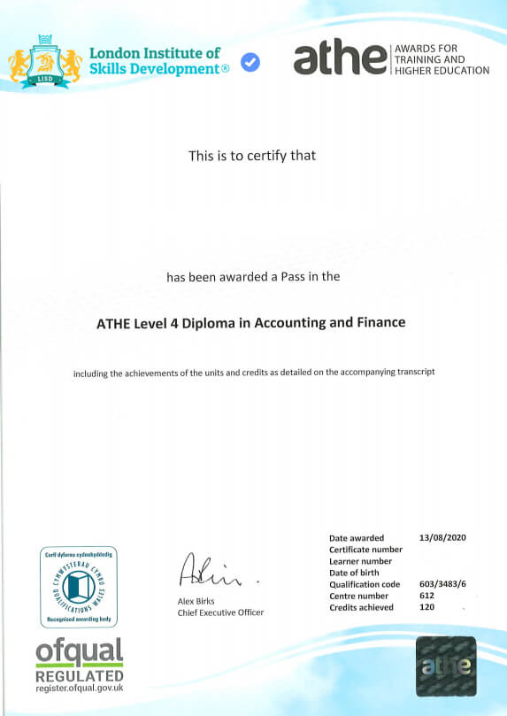 ATHE-Level-4-Accounting-Certificate