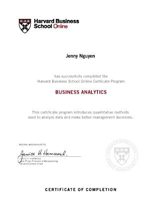 HBSO-Business-Analytics-Certificate